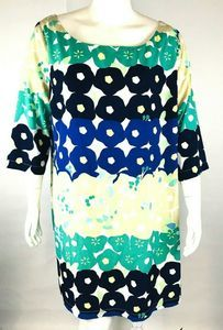 Old Navy Womans Multi Color Abstract